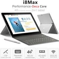 VOYO I8 Max LTE 4 г Phablet Android 7,1 10,1 ''MTK6797 Дека Core 4 Гб + 64 Гб 13MP 4 г телефонный звонок планшетный ПК OTG Dual SIM gps