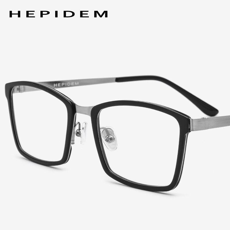 33d537c697 Acetate Glasses Frame Men Thin Metal Prescription Eyeglasses 2018 New Women  Eye Memory Square Myopia Optical Frames Eyewear-in Eyewear Frames from  Apparel ...