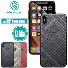 Nilkin para iPhone Xs Max Cases NILLKIN disipación de calor funda de aire de lujo de plástico duro PC funda completa de teléfono para iPhone Xs Max