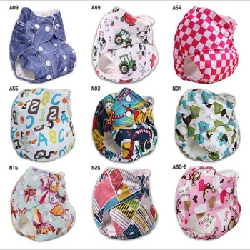 Polyester Washable Cloth Nappy Baby Diaper Washable Baby Pocket Nappy Cloth Reusable Diaper Ajustable Nappies Diapers NB023 baby cloth diaper washable diapers reusable baby nappies zeechi wholesale baby cotton couvre couche lavable