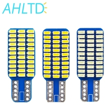 W5W Car LED T10 Canbus No Error Bulbs 3014 33smd Turn Signal License Plate Trunk Clearance Lights Lamp Warm White DC 12V 6000K 0 3w t10 1212 6 led vehicle decoration signal white lamp bulbs dc 12v 2 pack