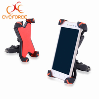 CYCFORCE Universal Bicycle Phone Holder 3.5 inch to 7 inch Universal Navigation Frame Road MTB Bike Phone Holder For iPhone 8 SE