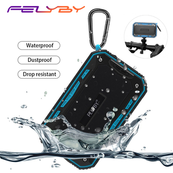 FELYBY S618 portable Bluetooth Wireless speaker Mini waterproof IP67 outdoor stereo speaker subwoofer for phone computer TF AUX
