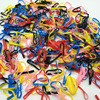 2016 New 2000PCS Lot Hot Selling Girls Hair Bands Small Baby Rubber Band Mix Color Princess