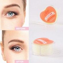 600pcs Makeup Clear Beige Eyelid Stripe Big Eye Decoration Invisible Double Fold Eyelid Shadow Sticker slender