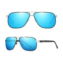 Classic Outdoor Shade Colorful Double Bridge Polarized Sunglasses Custom Made Myopia Minus Prescription Lens -1To-6
