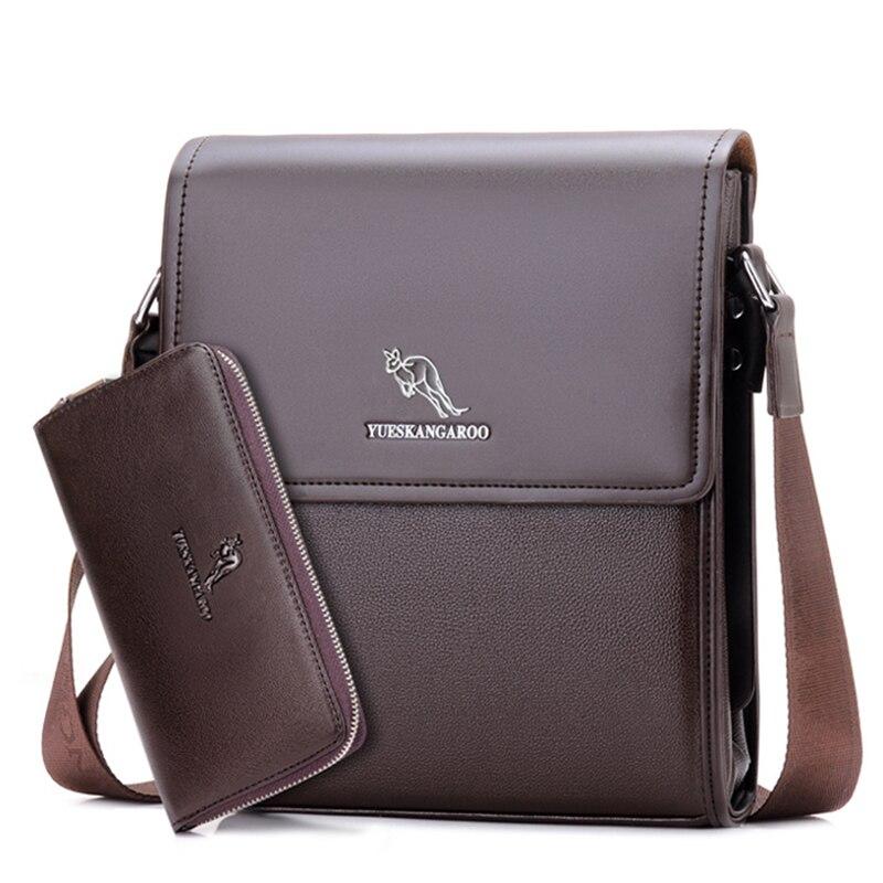 YUES KANGAROO kişi mesaj çantası kişi dəri çanta dizayneri - Çantalar - Fotoqrafiya 3