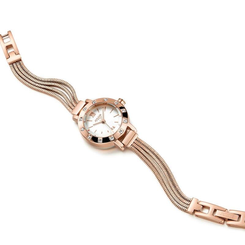 Small Lady Women s Watch Japan Quartz Hours Fine Fashion Clock Dress Chain Bracelet Snake Tassels