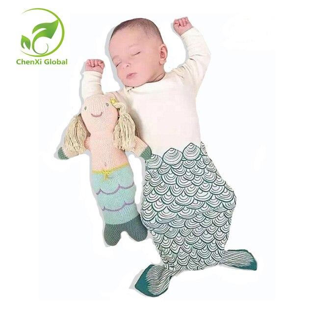 Bear&Penguin Baby Sleeping Bag Long-Sleeve Sleeping Bags Winter Warm Swaddle Blanket Wrap Sleeping Bag Envelope for Newborns