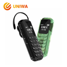 UNIWA KK2 мини мобильного телефона малыш Bluetooth Беспроводной наушники 2 г открыл маленький сотовый телефон волшебный голос как BM10 BM70 BM 50
