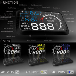 New universal 4c 5 5 car hud 5 5 head up display obdii windshield projector car.jpg 250x250