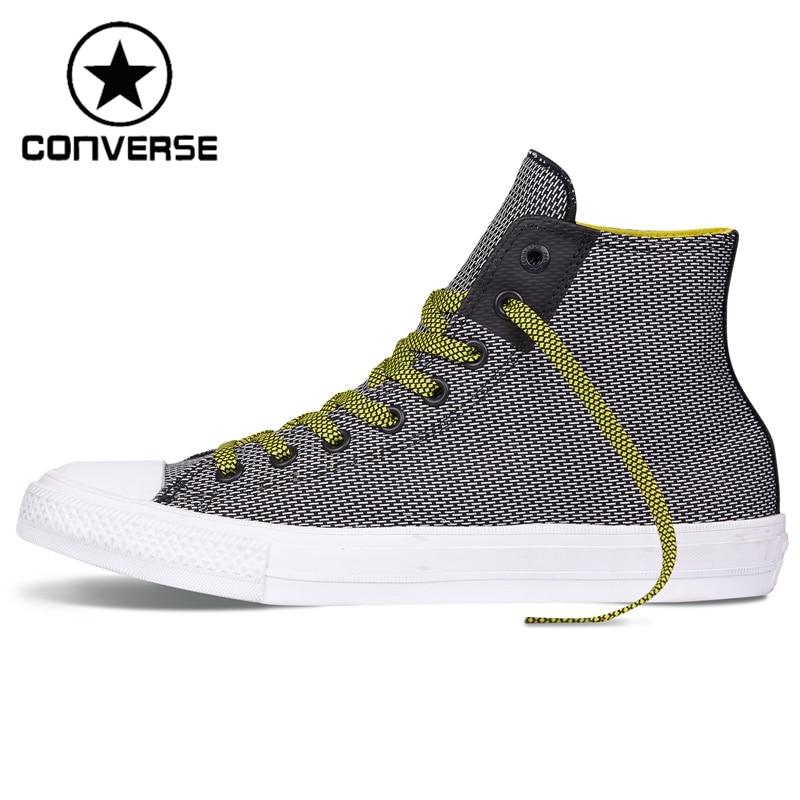 Prix pour Original Nouvelle Arrivée 2017 Converse Hommes de Haute top Planche À Roulettes Chaussures Sneakers