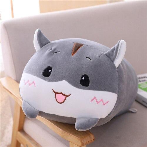 20cm grey hamster