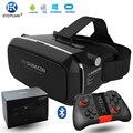 VR Shinecon 3D VR Очки Универсальный Виртуальной Реальности Бесплатная Контроллер Видео-Очки Для iPhone Смартфон + Mocute Геймпад 050