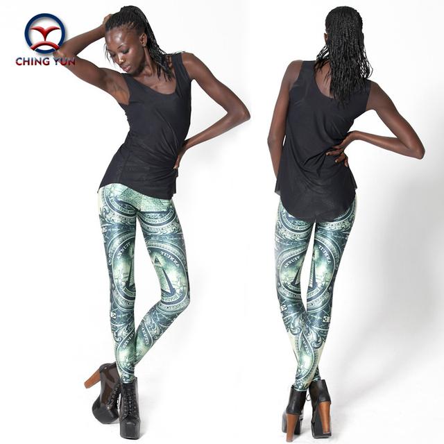 2016 mulheres leggings quente moda Egito Pirâmide impressão tamanho livre elastic Lady lazer casual Leggings casuais calças lápis mulher