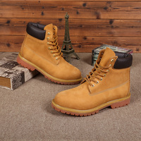 QPQ Brand Hot Newest Keep Warm Men Winter Boots High Quality Genuine Leather Casual Boots Working
