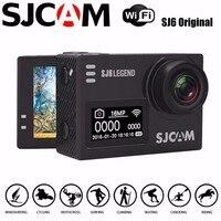SJCAM SJ6 SJ6000 Легенда 2 дюймов Водонепроницаемый Дайвинг ЖК дисплей Сенсорный экран 4 К HD Действие Камера Новатэк NT96660 MN34120PA CMOS аксессуары