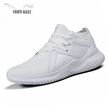 Summer Mesh Casual Running Shoes For Men 2019 Fashion Breathable Mesh Lace Up Shoes Flats Sports Sneakers Men mesh patchwork lace up nice sneakers for men