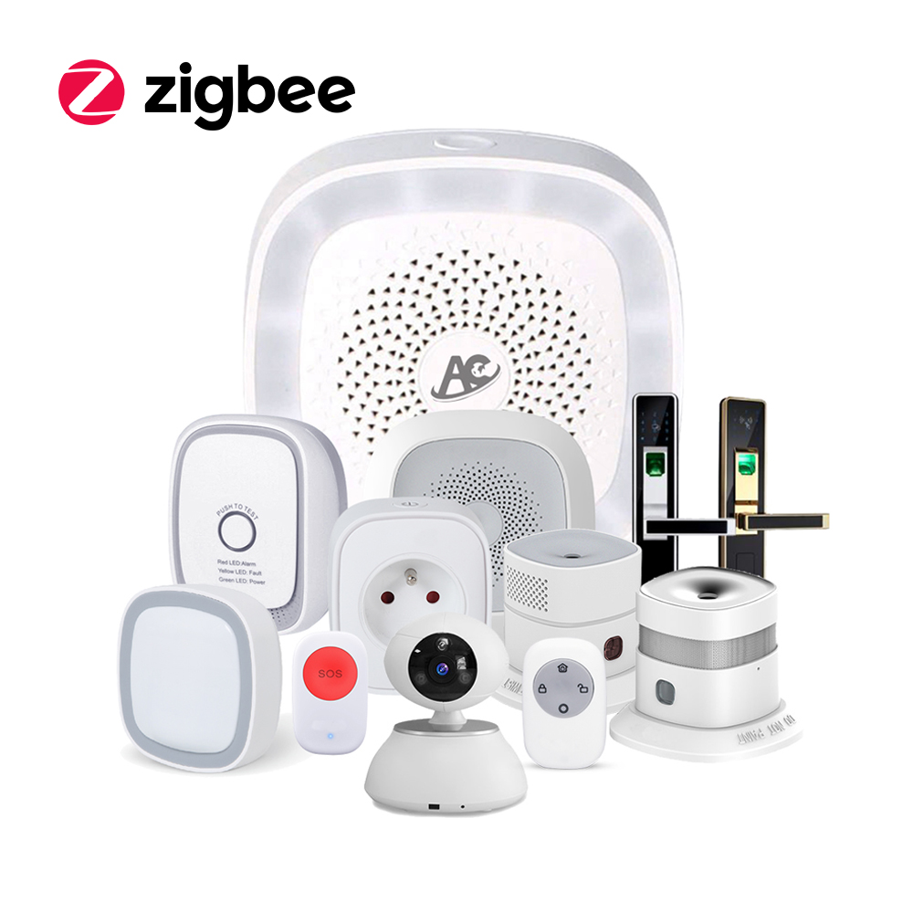 hight resolution of zigbee wireless remote control alarm smart home automation kit with alexa