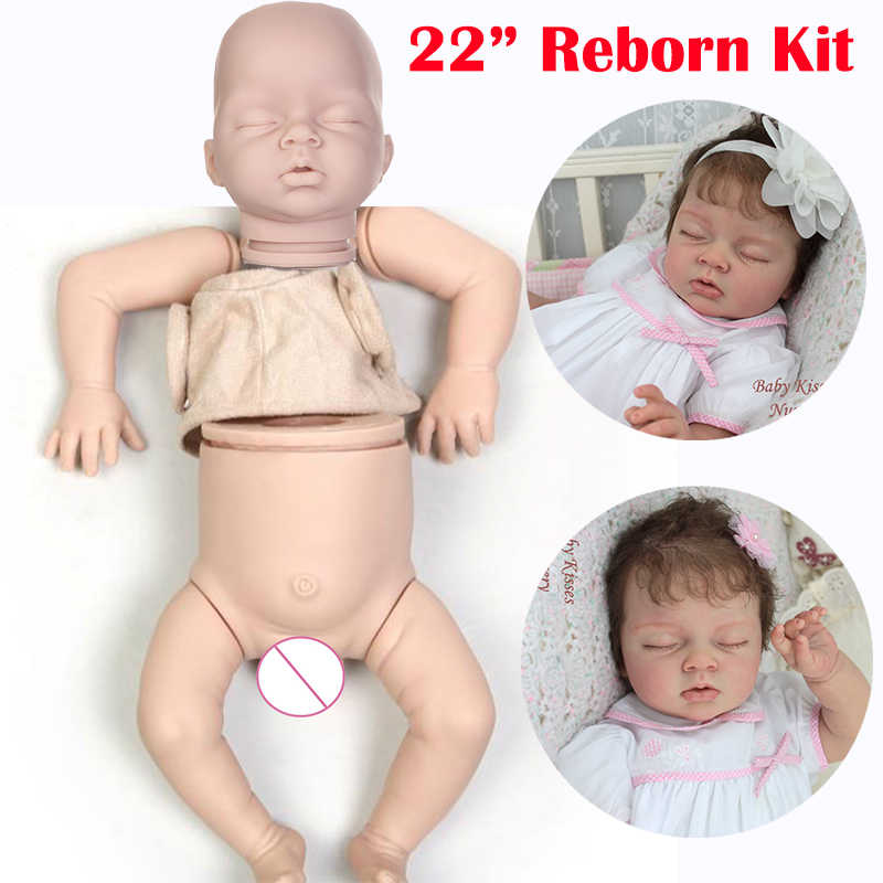 """Reborn Doe Suede Body Fits For 22/""""-24/"""" Realistic Reborn Baby Toddler Dolls Kits"""