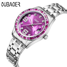 OUBAOER Women Brand Top Luxury Quartz Ladies Relogio Feminino Montre Femme Gold Wristwatches Waterproof Casual Watches