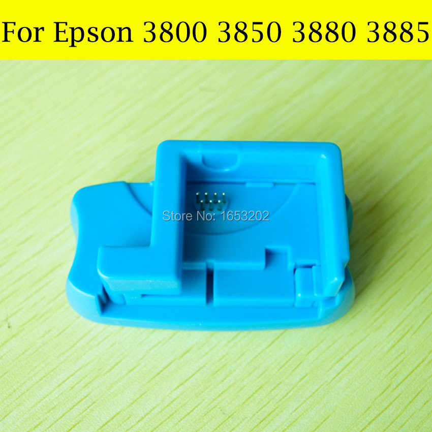 1 PC Maintenance BOX Ink Tank Chip Resetter For Epson 3800 3800c 3880 Printer Waste ink Tank Cartridge Chip Reset in Printer Parts from Computer Office