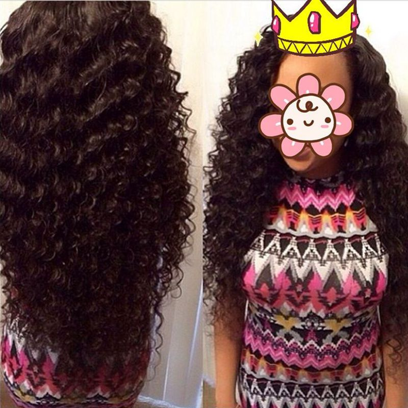 Brazilian Deep Wave Virgin Hair Brazilian Hair Bundles 3pcs lot100% Curly Virgin Hair Factory Selling 7A Cheap Hair Weave Online