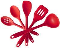 Đóng hộp spot silicone đồ dùng nhà bếp không dính cookware set silicone nấu ăn phù hợp với 5 cái của bếp