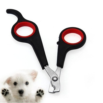 1Pcs Pet Nail Scissors Small Animals Nail Claw Grooming Scissors Clippers  For Dog Cat Bird Gerbil Rabbit Ferret Nailclippers