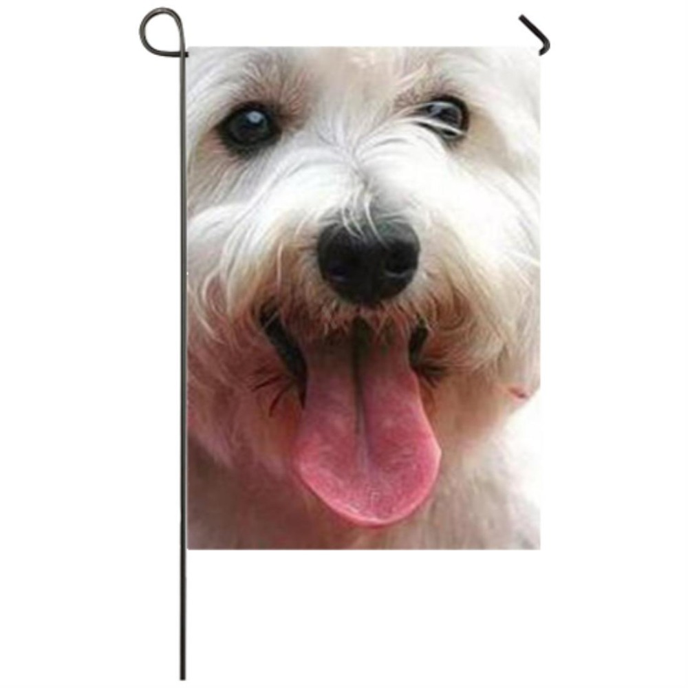 Yorkie dog Garden flag Seasonal Flags Weatherproof Decoration garden flags party home house decorations