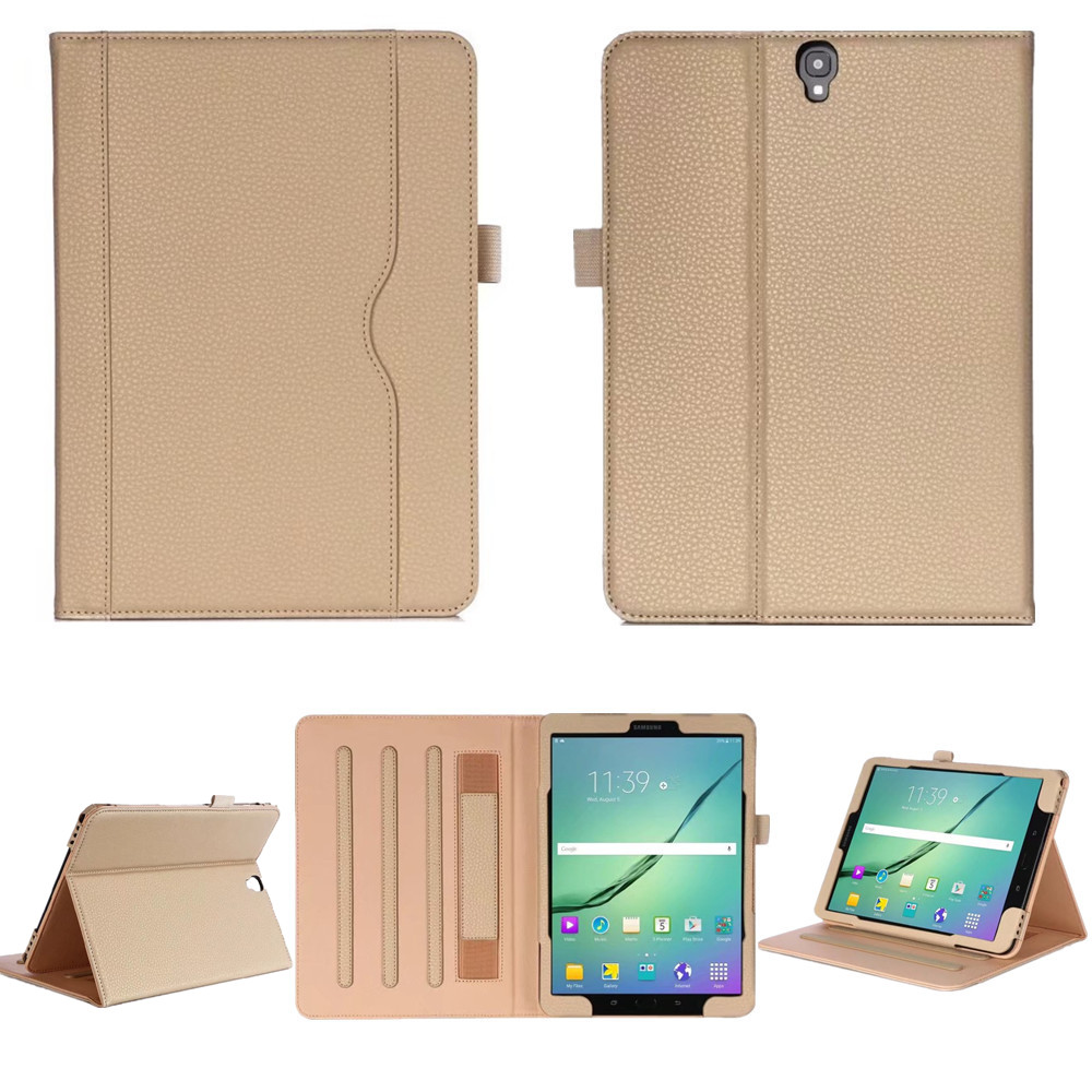 For Samsung Galaxy Tab S3 9.7 T820 T825 Leather Case Stand Cover Business Flip Cover for Samsung Galaxy Tab S3 9.7 T820 T825 keymao luxury flip leather case for samsung galaxy s7 edge