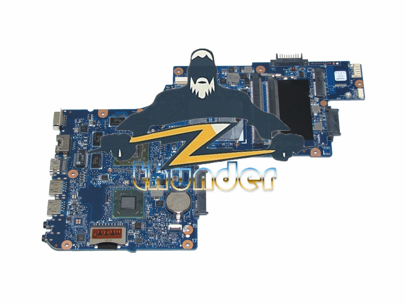 NOKOTION H000051770 Laptop motherboard For Toshiba satellite L850 C850 Main Board DDR3 HD7670M Video Card