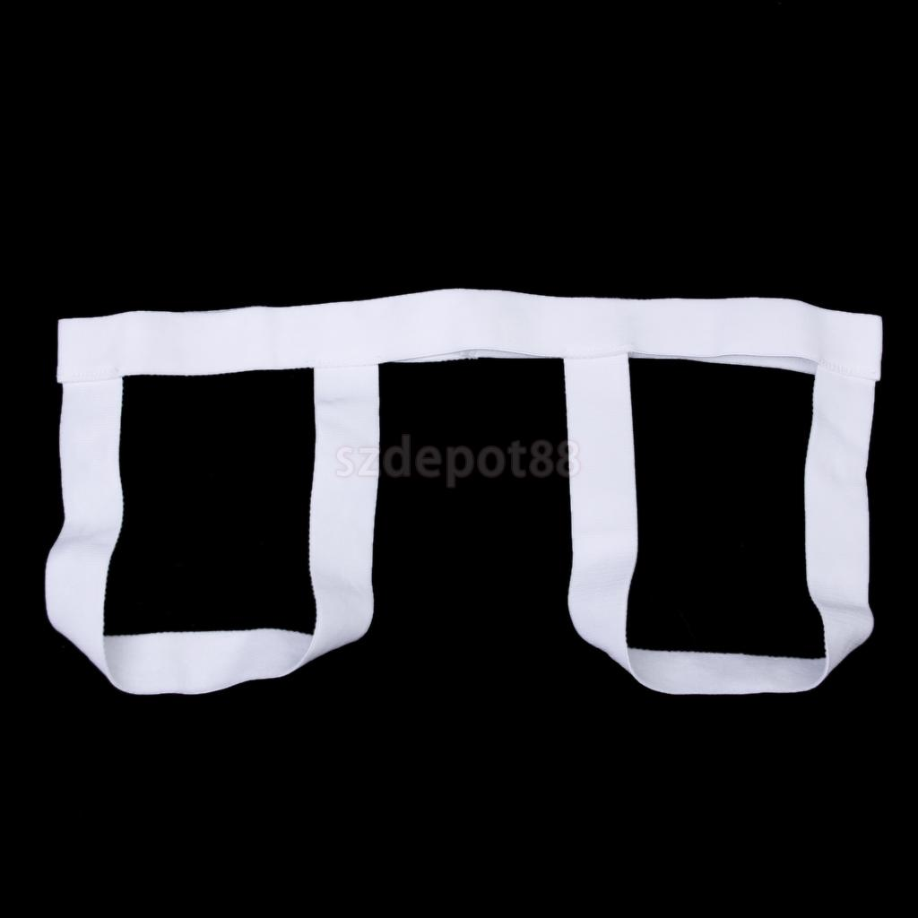 New 2014 Brand New Sexy New Men Women Unisex Thongs G-String Visiable Panty Lift Hips Underwear White