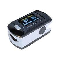 Finger Pulse Oximeter Portable Fingertip Pulsioximetro A Finger SPO2 PR Oximetro Digital CMS50ED Monitor