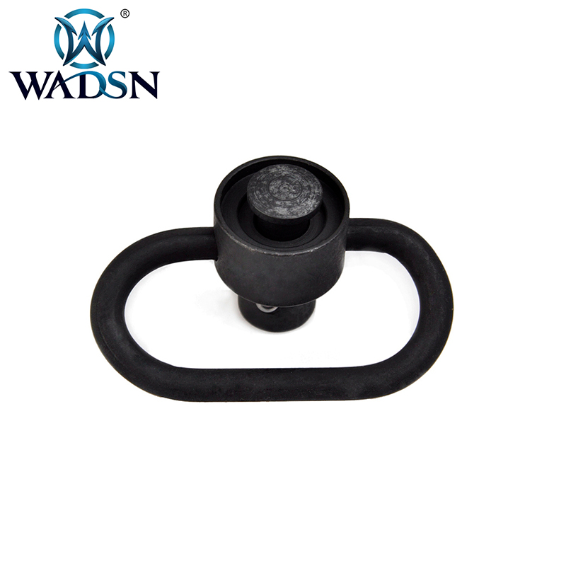 2pcs Push Button Quick Detach Release QD Sling Swivel Scope Mount Ring Works
