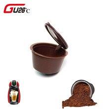 1 шт., 11 цветов, пластиковая многоразовая кофейная капсула, чашка, 200 раз, многоразовая, совместима с Nescafe, фильтрующими корзинами, капсулами