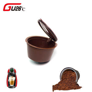 Capsule-Cup Refillable Gusto Coffee Plastic Compatible 11-Color Nescafe FILTER 1pc