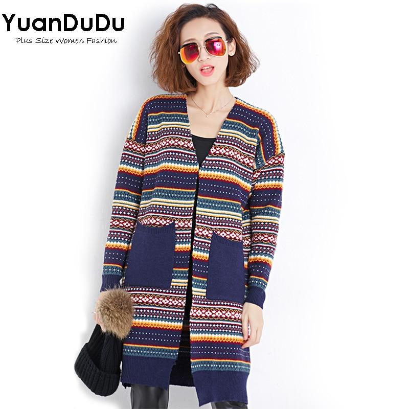XL XXL XXXL Women Sweaters 2016 Autumn Winter Fashion ...