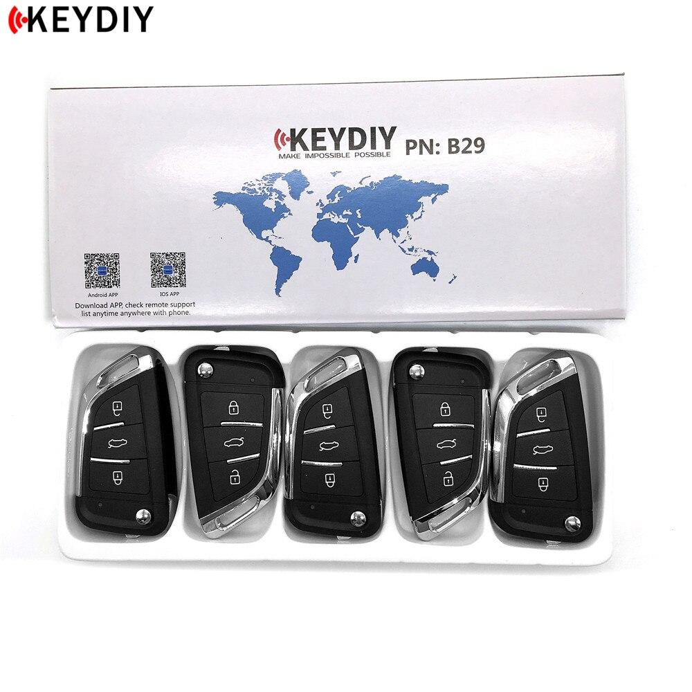 KEYDIY 5pcs lot KD B29 KD900 KD X2 URG200 Key Programmer B Series KD MINI Remote