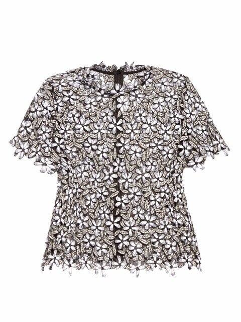 2016 автопортрет старинные маленький цветок с коротким рукавом о-образным вырезом топ вышитые кружева рубашки основной рубашка с коротким рукавом элегантная блузка