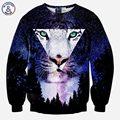 Mr.1991INC Nice 3d sweatshirts men/women hoodies harajuku tops creative print star space Triangle Tiger trees galaxy hoodie