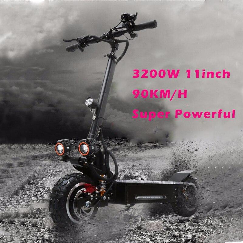 JS 60 V 3200 W 11 pouces puissant Scooter électrique sans brosse moteur pliable Hoverboard multifonction unisexe CE Koowheel planche à roulettes