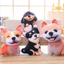 New Creative Cute Simulation Dog Plush Toys Stuffed Animal Doll Toy Soft Pillow Cushion Children Birthday Gift new arrival simulation ladybug plush toys stuffed animal doll toy plush pillow cushion children birthday gifts