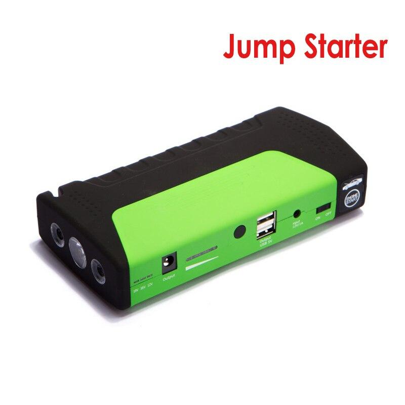 Batterie externe pour téléphone Portable jaune Mini démarreur de saut 13800 mAh voiture Jumper 12 V Booster chargeur de batterie chargeur portatif pour ordinateur Portable