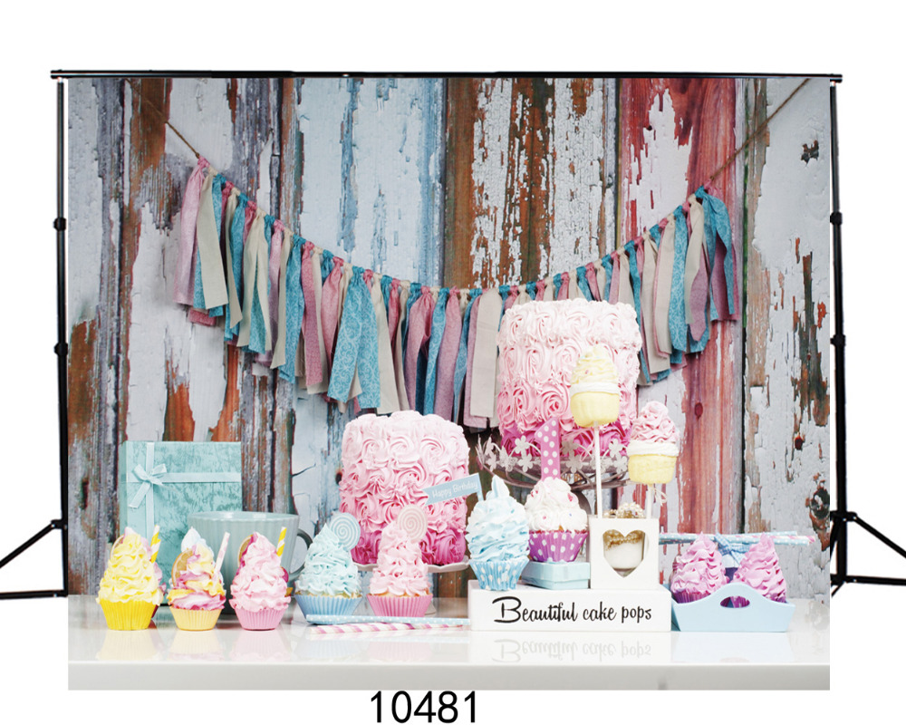 Vinyl Photography Background for Photo Shoots Banner Cake Party Birthday Children Wedding Photographic Backdrop for Photo Studio