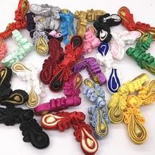 5 пар/упак. китайские пуговицы, узел, застежка, шесть круглых лютов, ручная работа, шитье Cheongsam Tang, винтажный костюм, аксессуары для рукоделия