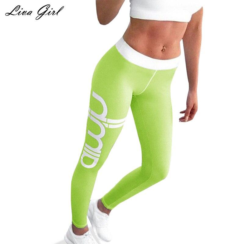 liva girl Black Pants Women Patchwork Transparent Fitness font b Leggings b font Clothing Trousers for