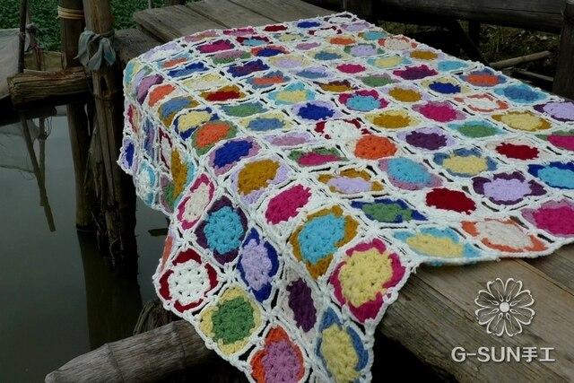 2014 Nuova Moda Pizzi Alluncinetto Coperta Per Warm Crochet