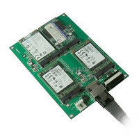 Mini SAS 4i SFF 8087 36 контакт 4 mSATA Mini PCI E SSD жесткий разделитель дисков Адаптер блока печатных плат, UPS DHL