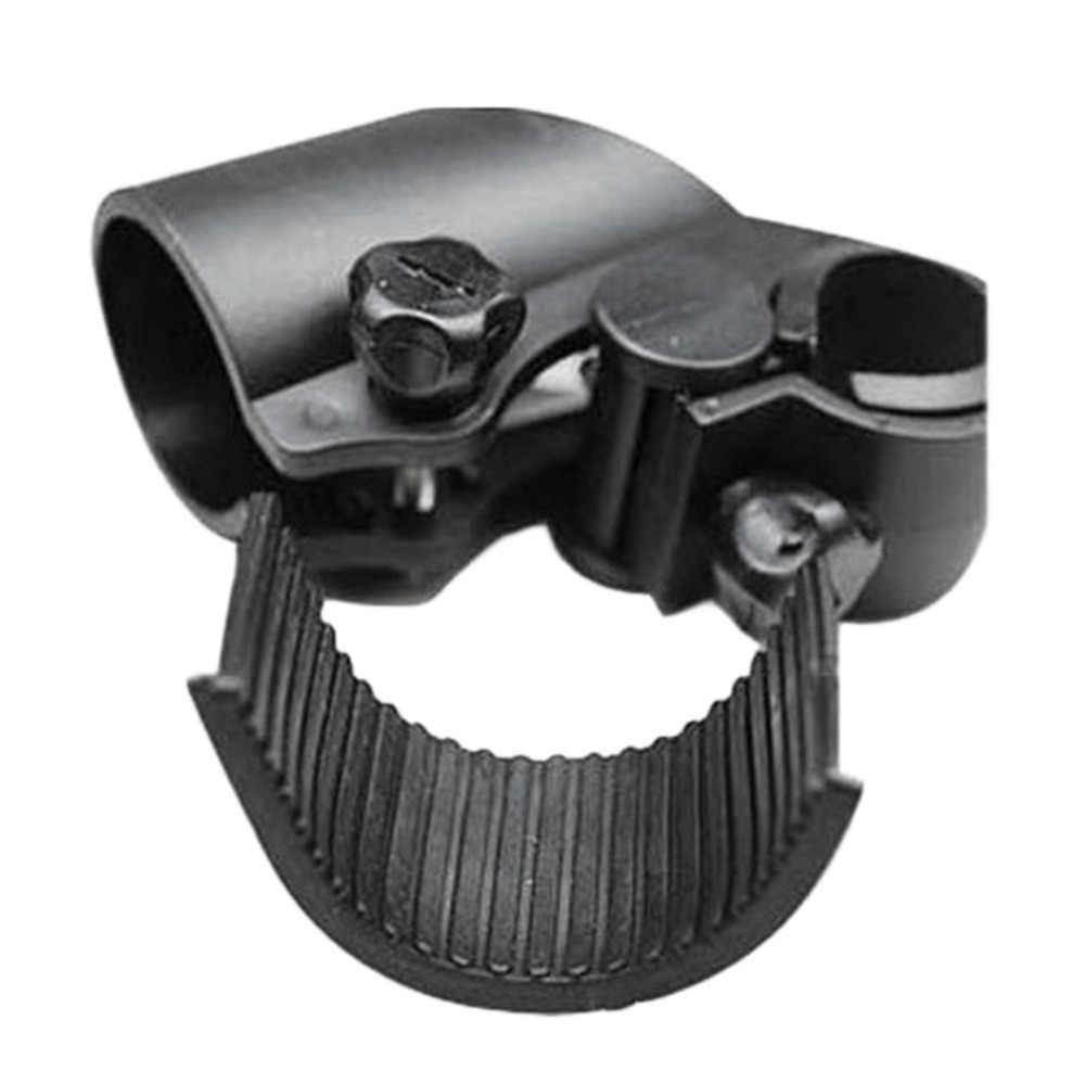 Luces Led de alta calidad para bicicleta abrazadera de Clip para antorcha soporte de luz de montaje de linterna Led de bicicleta Universal